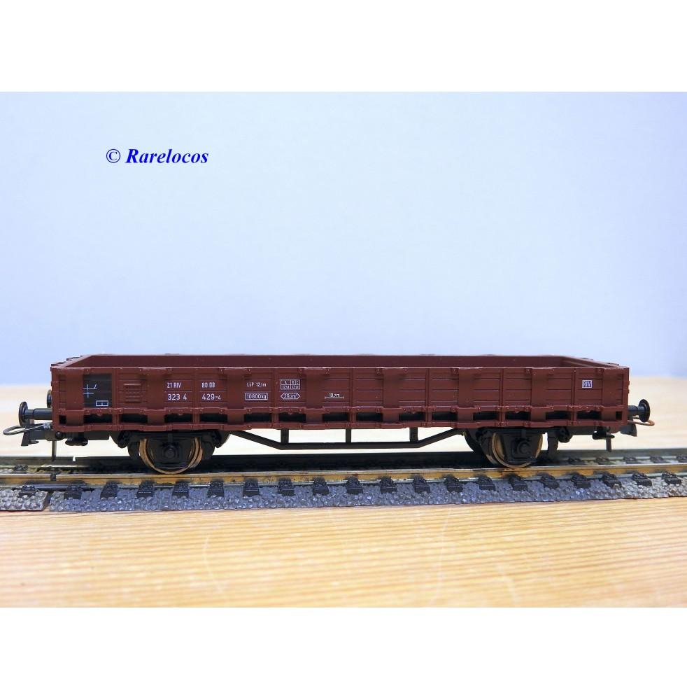 ROCO  46031, wagon plat à ranchers   DB   neuf   BO