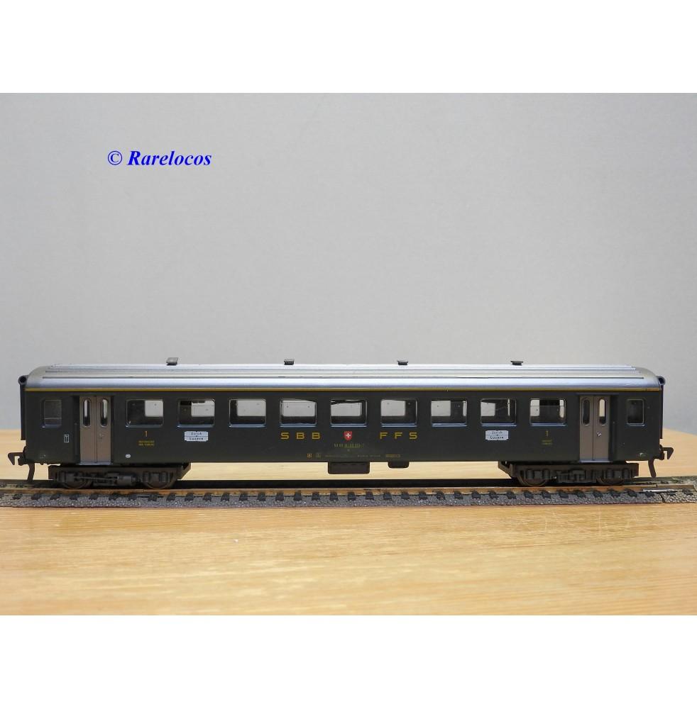 FLEISCHMANN 5133, voiture grandes lignes 1 Kl.  type  A  SBB  BO
