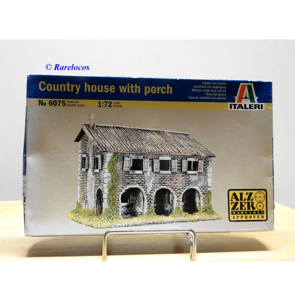 ITALERI 6075,  Country house  with porch   Neuf   BO  1/72