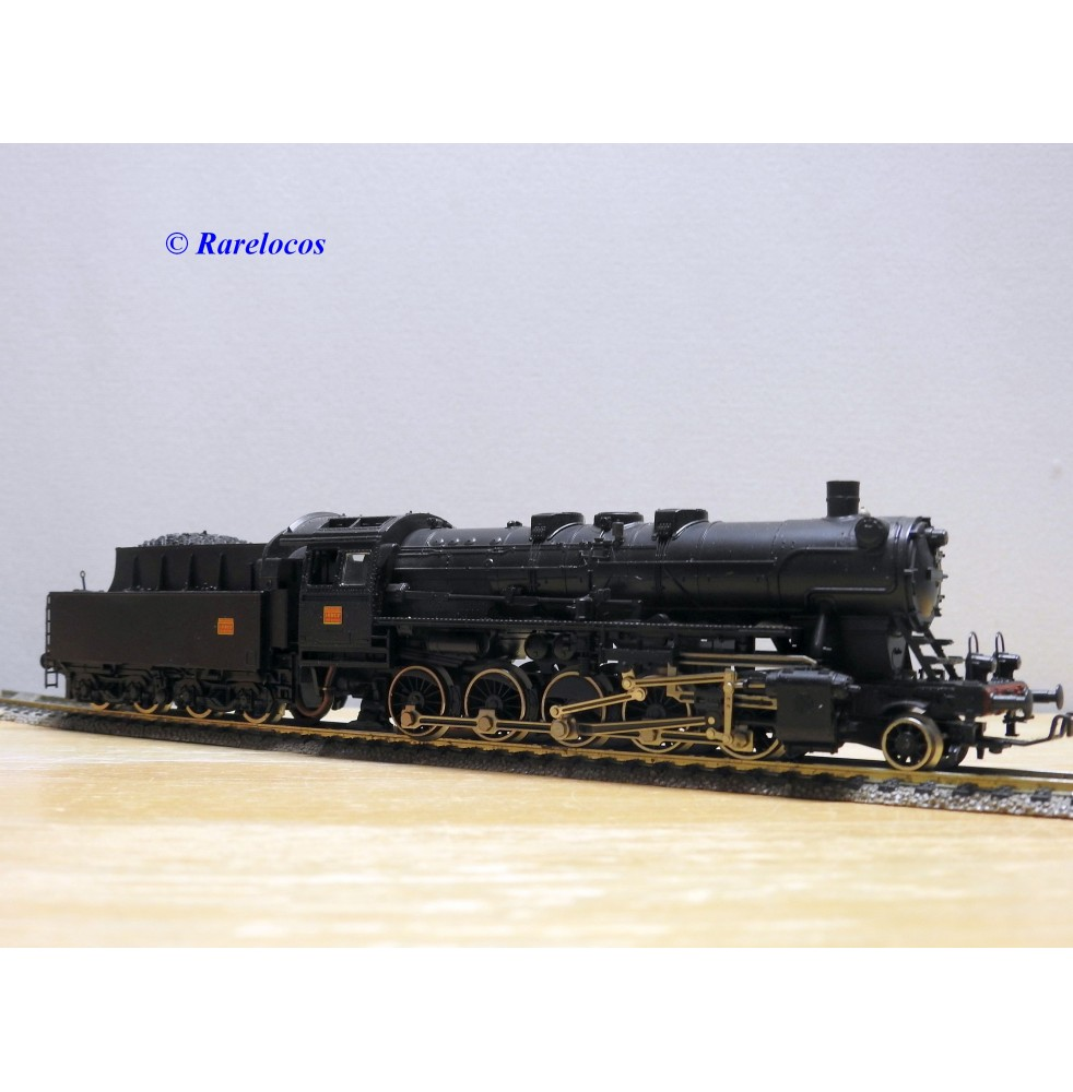 FLEISCHMANN 4178, loco Decapod 150 Z 2255   Mulhouse  SNCF  BO