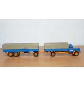 BREKINA 81061, camion et remorque KAELBLE K 832 L  Neuf  BO  1/87