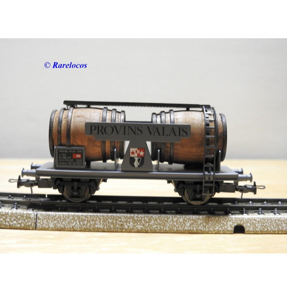 ELECTROTREN  814, wagon citerne bi foudres PROVINS VALAIS  SBB  BO