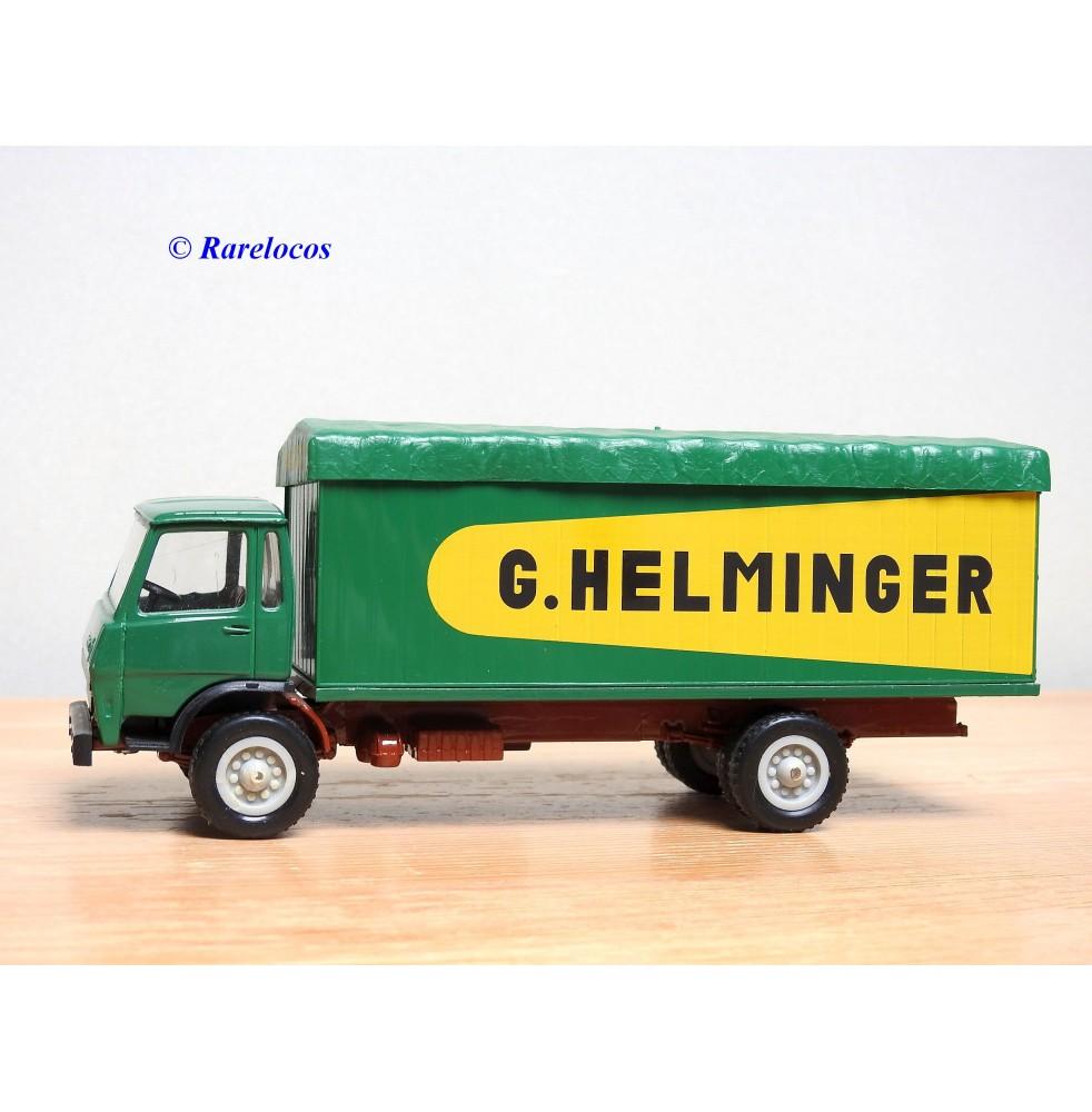 LBS Maquettes Louis Surber , camion bâché BERLIET GR 190 G.HELMINGER