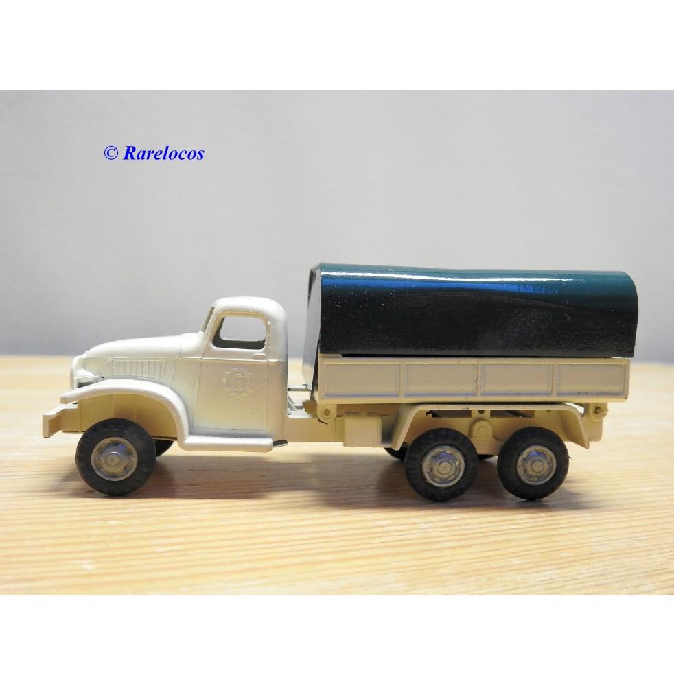 FJ  ???, camion plateau bâché  GMC CCKW 353
