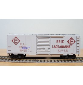LILIPUT 252 32,  wagon couvert ( boxcar ) ERIE LACKAWANNA  BO