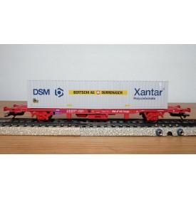 Märklin 47701,  wagon porte conteneur type Lgins 570 NS Cargo BO