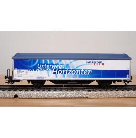 Märklin 4735,926 / 98707  wagon couvert type Hbils-vy SWISSCOM SBB Neuf  BO