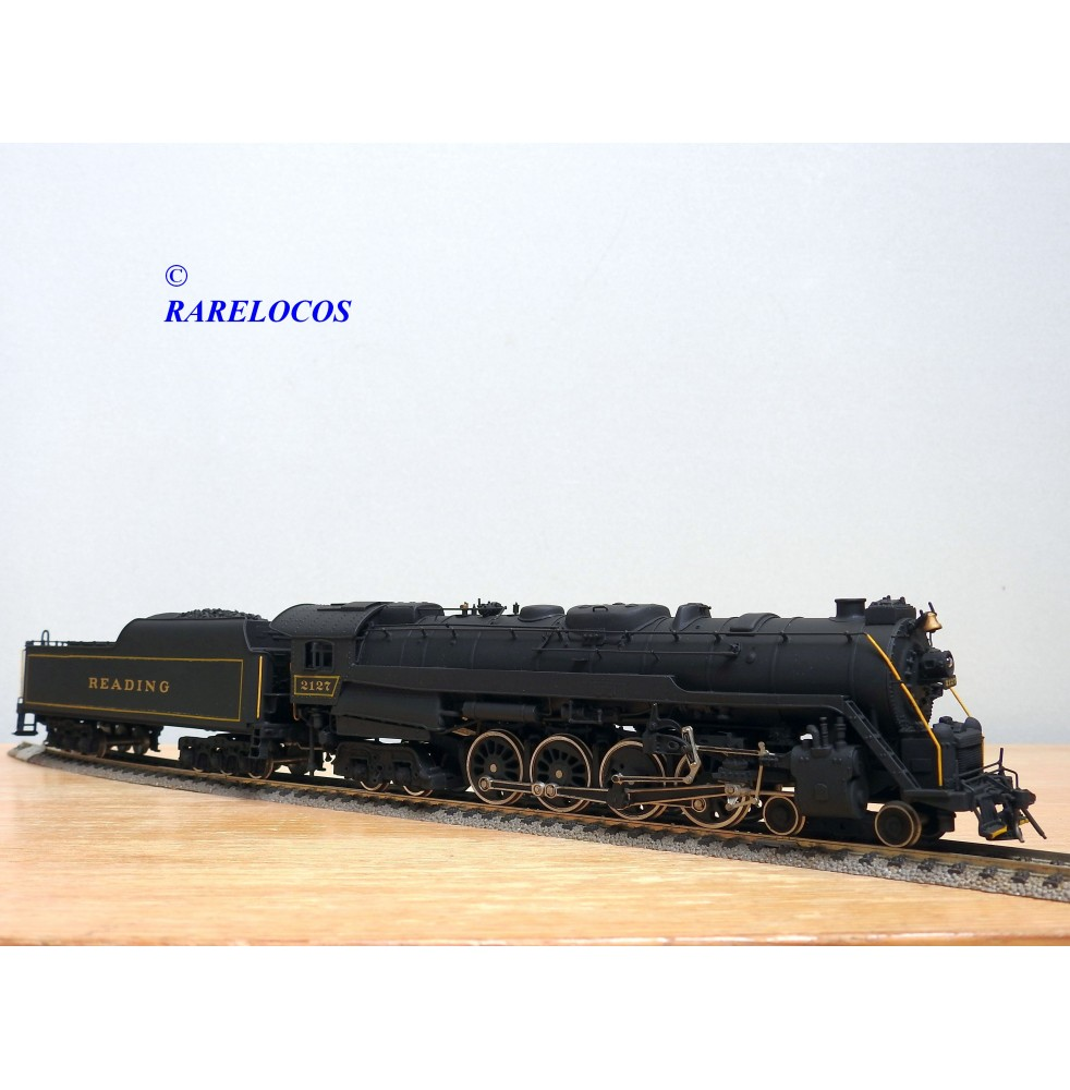 GEM / OLYMPIA, locomotive 4-8-4 ( 242 ) Northern Class T1 Reading  BO