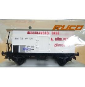 RUCO 2306, wagon bière HÜRLIMANN SIHLTALBAHN BO