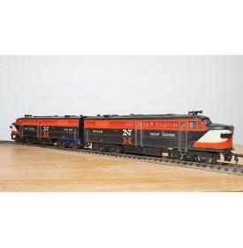 FLEISCHMANN 1341/2N-1,  couplage locos diesel ALCO  NEW HAVEN