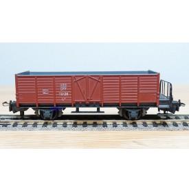 HAG  325.05, wagon tombereau à plate forme type  L6  SBB  BO