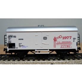 Märklin 77701 / 4415,  rare wagon couvert réfrigérant type Ichqrs 377 DB MEA 1977 Neuf  BO