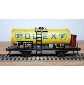 TRIX EXPRESS  20 / 78 O, grand wagon citerne à guérite BP OLEX DR