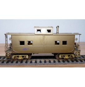 CUSTOM  BRASS RS-673,  fourgon de queue ( caboose) type NMK READING  BO