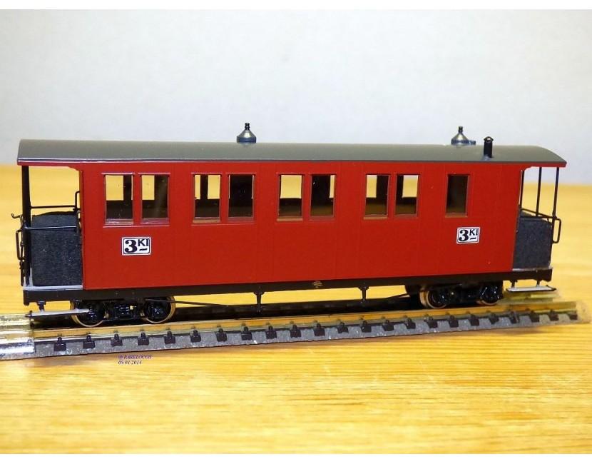 Trains électriques NORWEGIAN RAIL MINIATURES  Modellbahnen Model trains wagons Wagen Cars  échelle HOe scale Spur